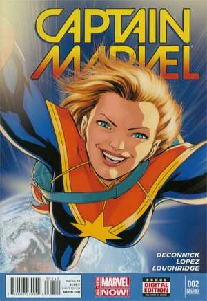Captain Marvel (2014-2016) #2C