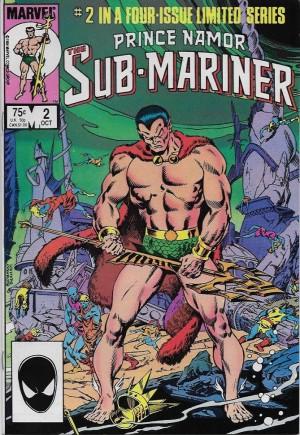 Prince Namor, the Sub-Mariner (1984)#2B