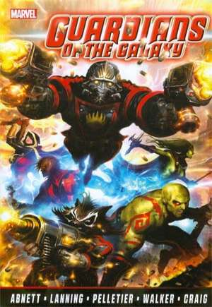 Guardians of the Galaxy By Abnett and Lanning: Complete Collection (2014)#TP Vol 1
