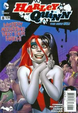 Harley Quinn (2013-2016) #8A