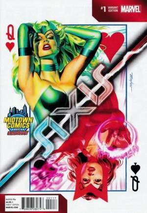 Avengers and X-Men: AXIS (2014-2015) #1H