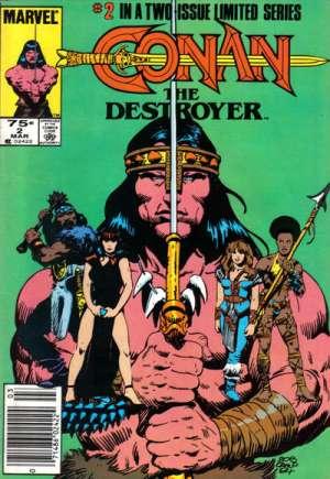Conan the Destroyer (1985)#2A