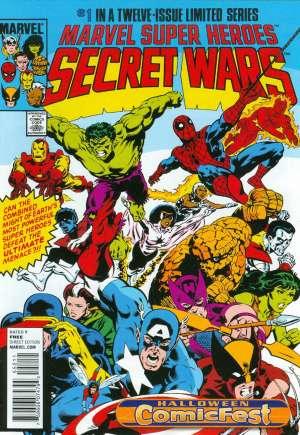Marvel Super-Heroes Secret Wars (1984-1985)#1F