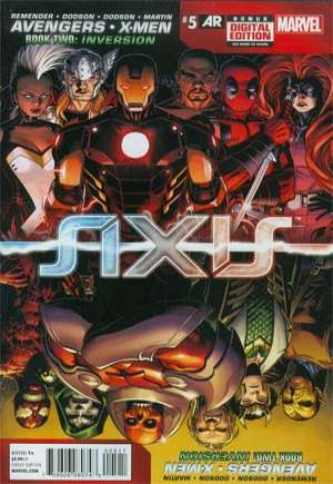Avengers and X-Men: AXIS (2014-2015)#5A