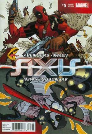 Avengers and X-Men: AXIS (2014-2015)#5B