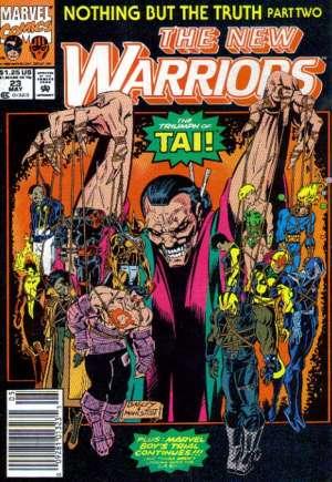 New Warriors (1990-1996)#23A