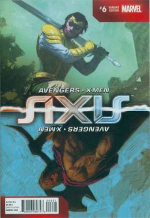 Avengers and X-Men: AXIS (2014-2015) #6B