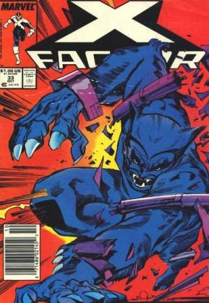 X-Factor (1986-1998)#33A