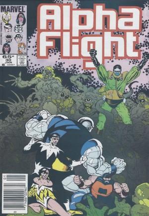 Alpha Flight (1983-1994)#30A
