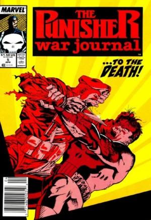 Punisher: War Journal (1988-1995)#5A