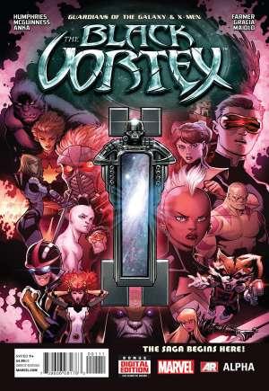 Guardians of the Galaxy & X-Men: The Black Vortex - Alpha (2015)#1A