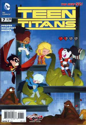 Teen Titans (2014-2016) #7B