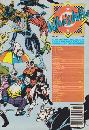 Who's Who: The Definitive Directory of the DC Universe (1985-1987) #17C