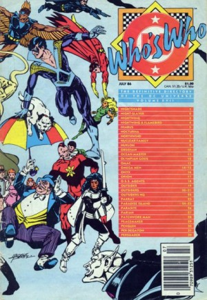 Who's Who: The Definitive Directory of the DC Universe (1985-1987)#17A