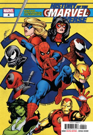 History Of The Marvel Universe (2019-2020)#4A
