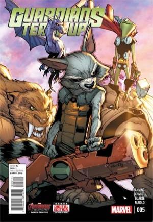 Guardians Team-Up (2015-Present)#5