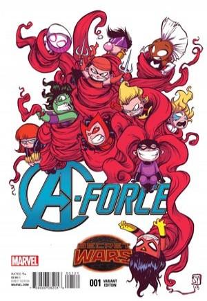 A-Force (2015)#1B