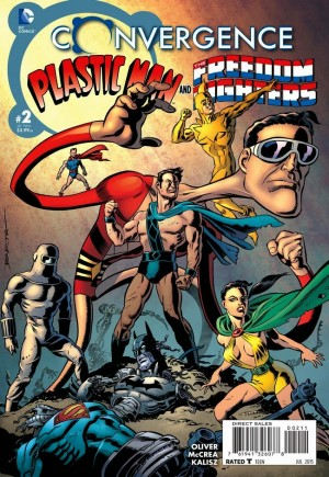 Convergence: Plastic Man and the Freedom Fighters (2015)#2A
