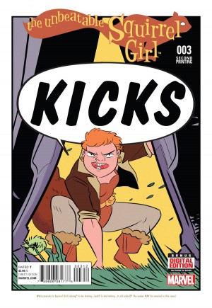Unbeatable Squirrel Girl (2015) #3D