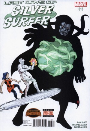Silver Surfer (2014-2016) #13