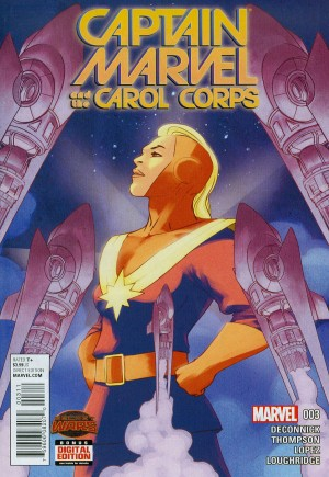 Captain Marvel and The Carol Corps (2015) #3A