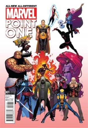 All-New All-Different Marvel Point One #1C