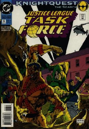 Justice League Task Force (1993-1996)#6