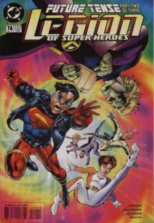 Legion of Super-Heroes (1989-2000)#74