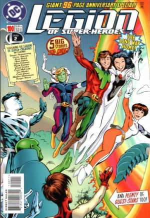 Legion of Super-Heroes (1989-2000) #100