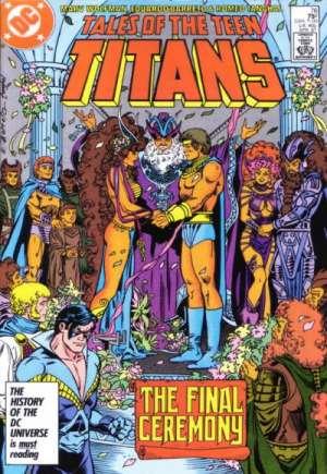 Tales of the Teen Titans (1984-1988)#76B