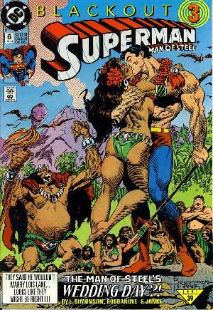 Superman: The Man of Steel (1991-2003)#6
