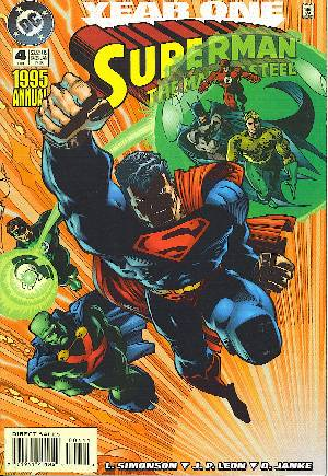 Superman: The Man of Steel (1991-2003)#Annual 4