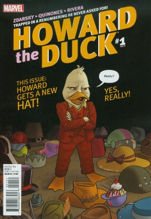 Howard the Duck (2015-Present) #1D