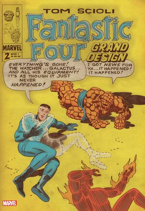 Fantastic Four: Grand Design#2A