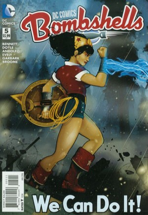 DC Comics Bombshells (2015-2017)#5