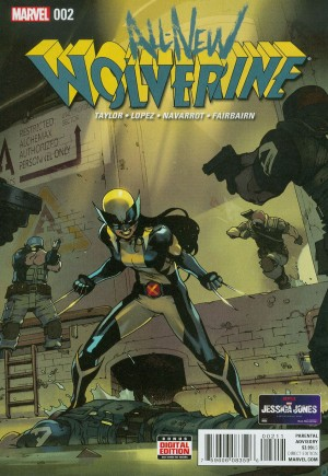 All-New Wolverine (2016-2018)#2A