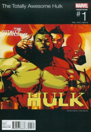 Totally Awesome Hulk #1B