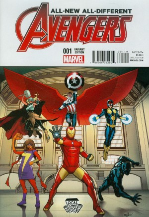 All-New, All-Different Avengers (2016-Present)#1J