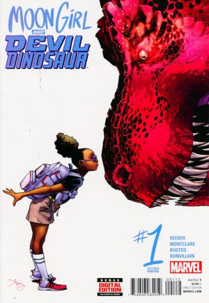 Moon Girl And Devil Dinosaur (2016-Present) #1E