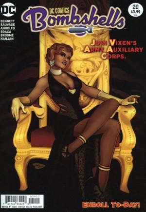 DC Comics Bombshells (2015-2017)#20