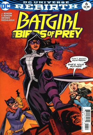 Batgirl and the Birds of Prey (2016-2018)#6A