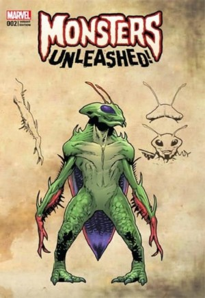 Monsters Unleashed (2017) #2F
