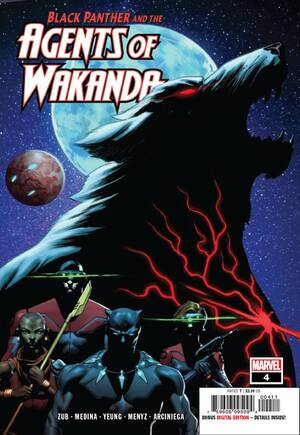 Black Panther And The Agents of Wakanda#4A