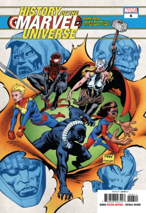History Of The Marvel Universe (2019-2020)#6A