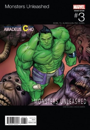 Monsters Unleashed (2017) #3G