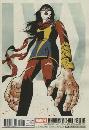 Inhumans vs. X-Men (2016-2017)#5B