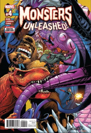 Monsters Unleashed (2017)#4A