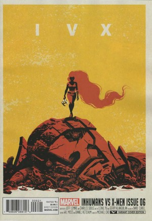 Inhumans vs. X-Men (2016-2017)#6B