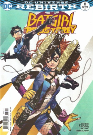 Batgirl and the Birds of Prey (2016-2018)#8B