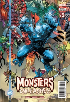 Monsters Unleashed (2017) #5A